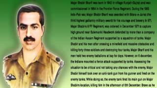 nishan e haider holders of pakistan