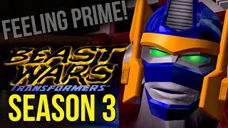 Feeling Prime!   Beast Wars: Season 3 Three Review / Retrospective - Bull Session