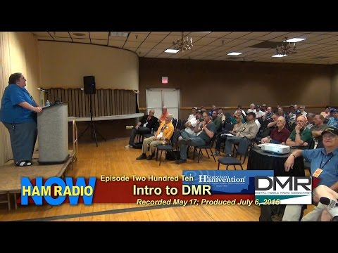 HRN 210: Intro to DMR on HamRadioNow