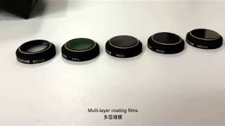 Sunnylife ND MCUV CPL Filters for MAVIC PRO