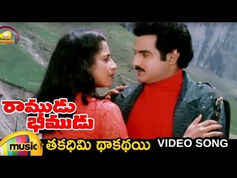 Xxx Mp4 Ramudu Bheemudu Telugu Movie Thakadhimi Thakathai Song Balakrishna Suhasini Mango Music 3gp Sex