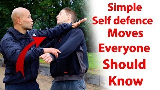simple self defence moves everyone should know