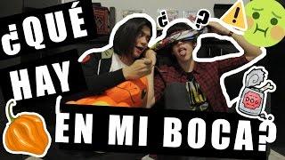 ¿QUÉ HAY EN MI BOCA? ft MIKE MADRIGAL  ⚠ VÓMITO ⚠ |  LITTLE ALEX
