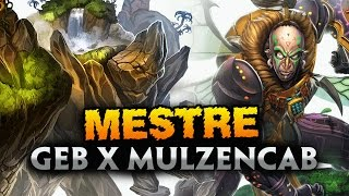 SMITE BRASIL: Ranked Duel - GEB X MULZENCAB