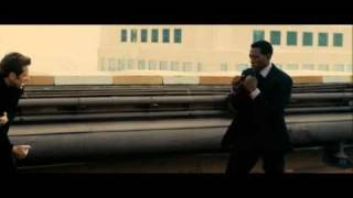 Wesley Snipes vs. Gary Daniels - rooftop fight - Game Of Death final battle (HQ)