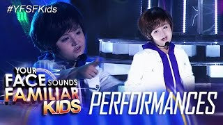 Your Face Sounds Familiar Kids: Alonzo Muhlach as Justin Bieber- Baby