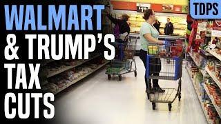 Walmart Got BILLIONS Tax Cut, Now Laying Off Workers
