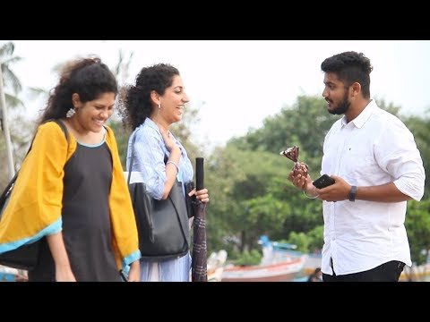 Calling Girls CUTE Prank - Complimenting Girls   Baap Of Bakchod- Raj