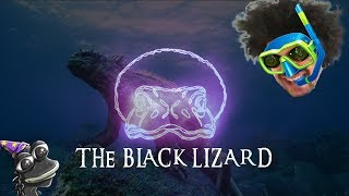 The Black Lizard that ruled the desert and the seas