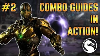 COMBO GUIDE IN ACTION! - MKX: Triborg (Cyrax) Online Matches Gameplay Ep. 2