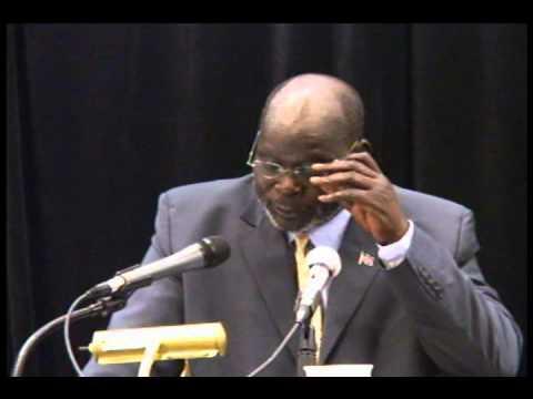 A Speech by John Garang FULL