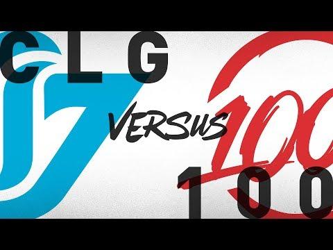 Xxx Mp4 CLG Vs 100 Week 1 Day 2 NA LCS Summer Split Counter Logic Gaming Vs 100 Thieves 2018 3gp Sex