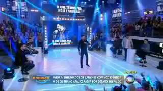 Rapaz que canta igual a Cristiano Araújo