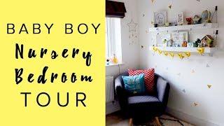 NURSERY ROOM TOUR/BEDROOM - BABY BOY