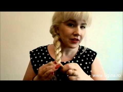 Cum se face impletitura tip funie/ rasucita (www.sigina.ro)