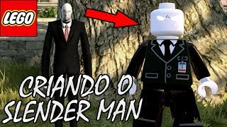 CRIANDO O SLENDER MAN NO LEGO Marvel's Avengers (LEGO Marvel Vingadores)