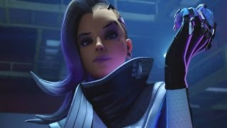 Overwatch All Cutscenes Movie (w/ Sombra / All Cinematic Story Trailer)