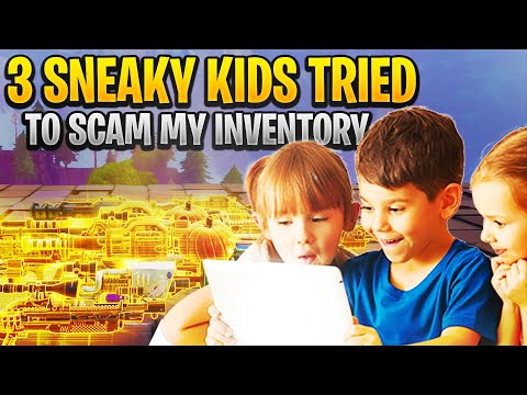Three Rich Sneaky Scammers Scam Me Scammer Gets Scammed Fortnite Save The World
