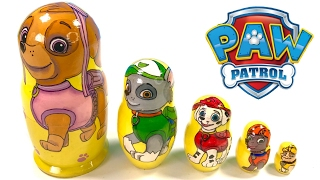Paw Patrol Toy Nesting Dolls Stacking Cups