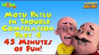 Motu Patlu in Trouble - Compilation Part 4 - 45 Minutes of Fun!