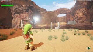 Unreal Engine 4 [4.11.2] Zelda Ocarina of Time / Gerudo Valley + Download link