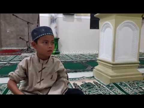 MASYAALLOH.. Suara Merdu Santri Cilik (Usia 8 Tahun) yang Hafidz Al Qur'an