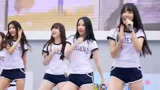 150502 가족 E 스포츠 페스티벌 - 여자친구(GFriend) - White(하얀마음) 직캠 Fancam