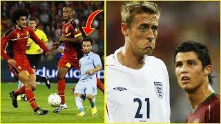 أشهر الأجسام الغريبة التي تميز بها لاعبو كرة القدم !