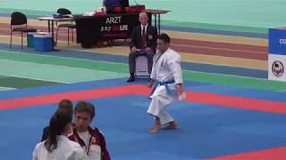 Karate1 Leipzig 2017 - Issei Shimbaba - Papuren