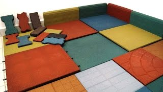 Rubber Tile Equipment - Crumb Rubber - Rubber Tile Production - Rubber Machine