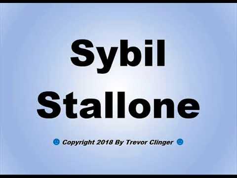 Xxx Mp4 How To Pronounce Sybil Stallone 3gp Sex