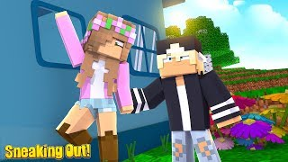 SNEAKING OUT TO MY NEW CRUSH!   Minecraft Little Kelly