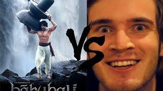 bahubali vs pewdiepie WTF!!!