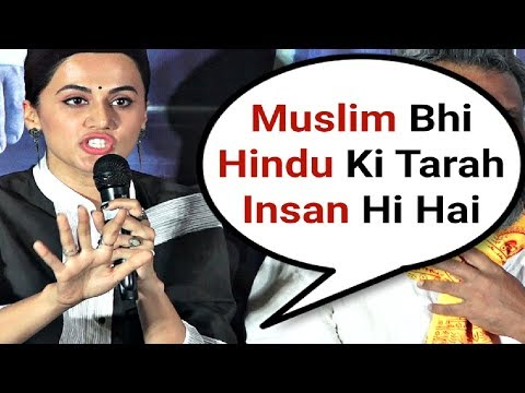 Xxx Mp4 Taapsee Pannu Best Reaction On Muslim In India 3gp Sex