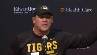 Barry Odom delivers passionate speech after Missouri's loss to Auburn