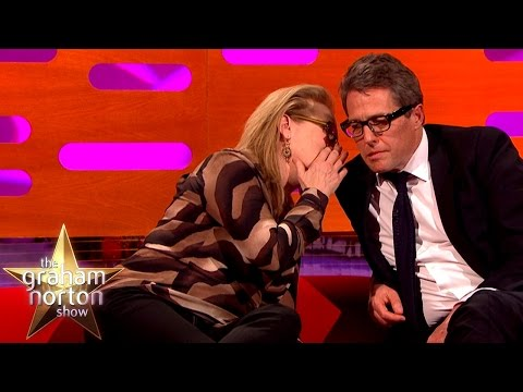 Meryl Streep Leaves Hugh Grant Speechless The Graham Norton Show