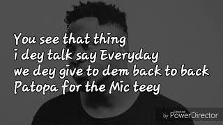 Medikal Adwee Ba Lyrics...