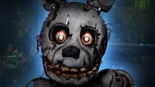 Five Nights at Freddy's 3 Secret Glitches [New Animatronic] PARODY
