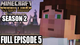 Minecraft Story Mode Season 2 FULL EPISODE 5 Gameplay Walkthrough - No Commentary