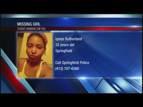 12 year-old girl missing; may be with man in Connecticut