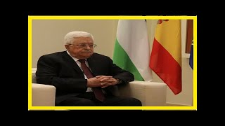 News 24/7 - Palestinian President abbas will not meet U.s. cents in offshore areas-