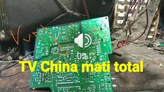 Tv China mati total ternyata