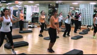 Golds Gym Howard Beach - Aerobic-A-Thon - Step Aerobics