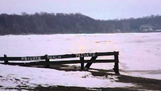 Lake Erie ice Sherkston shores