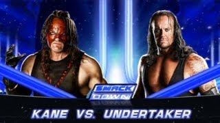 WWE 13 : The Undertaker Vs Kane !