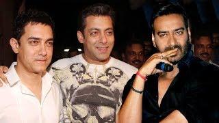 Ajay Devgn REACTS on EGO CLASH with Salman Khan