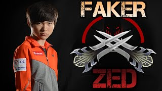 Faker Highlights - Best ZED Plays