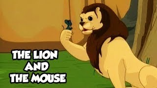 Tales of Panchatantra - The Mouse & The Lion - Funny Animated Hindi Stories