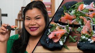 Smoked Salmon Flatbread l Jen Phanomrat