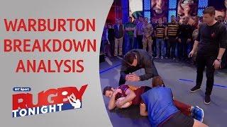 Sam Warburton breakdown demo | Rugby Tonight